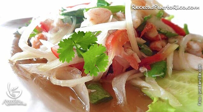 Ensalada De King Crab